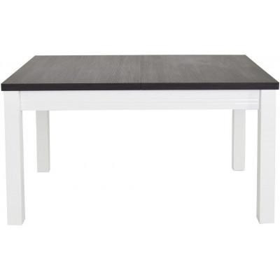 Stół rozkładany 130-220 Grand sosna norweska biały połysk Kielecka Fabryka Mebli
