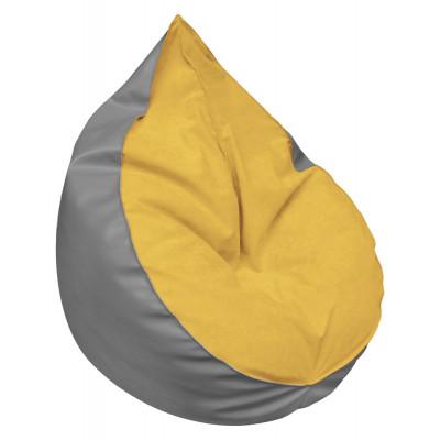 Pufa Heart yellow Meble Meblik