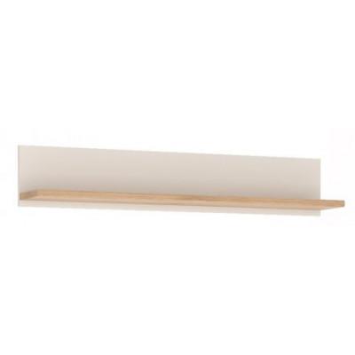 Półka do pokoju młodzieżowego biały alpejski / san remo Amazon 61 Meble Wójcik