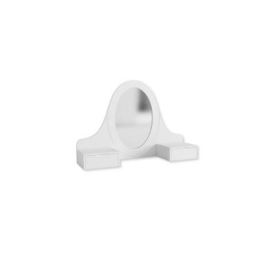 Toaletka Bianco Fiori 90 Meble Meblik