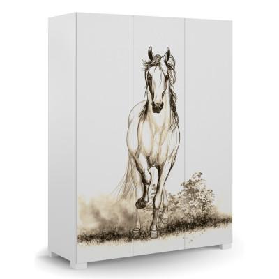 Szafa 150 Horse White Meble Meblik