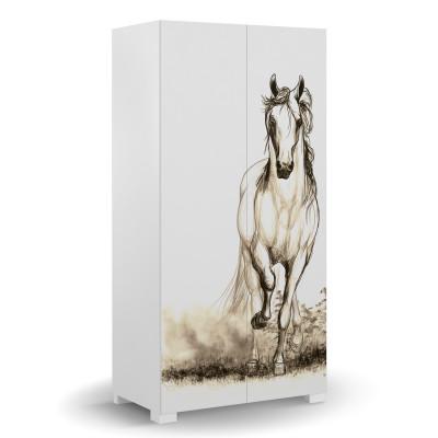 Szafa 100 Horse White Meble Meblik