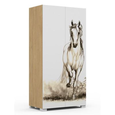 Szafa 100 Horse Oak Meble Meblik