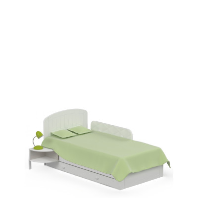 Łóżko 90x190 Nordic Meble Meblik
