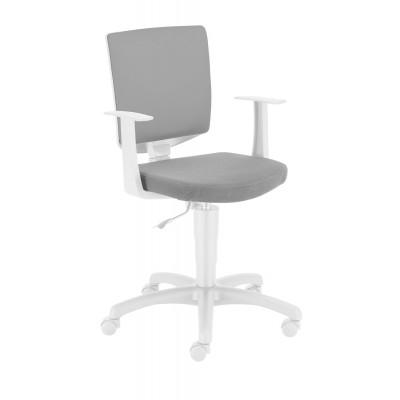 Krzesło obrotowe Enjoy szare Meble Meblik