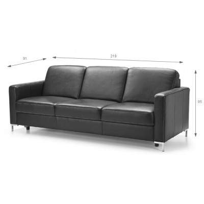 Basic sofa 3F 219cm Etap Sofa