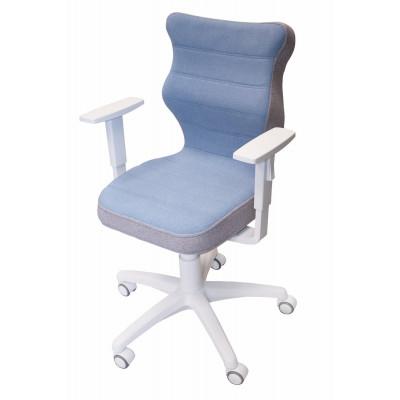 Krzesło obrotowe Soft niebieskie Meble Meblik