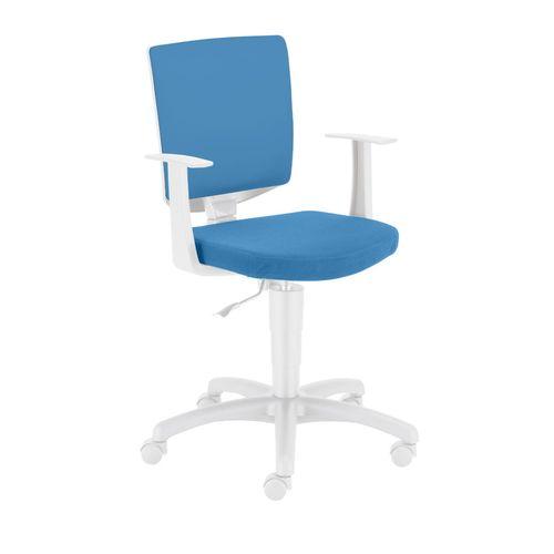 Krzesło obrotowe Enjoy turkusowe Meble Meblik