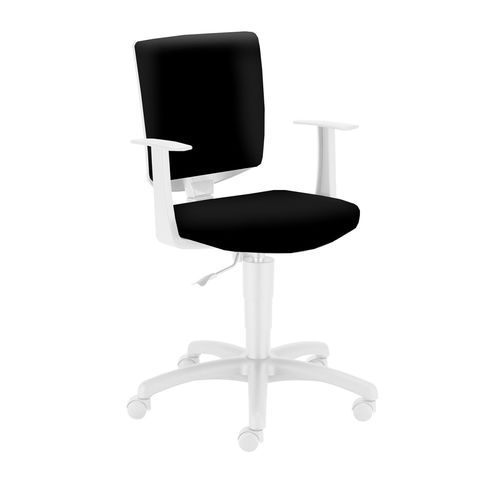 Krzesło obrotowe Enjoy czarne Meble Meblik