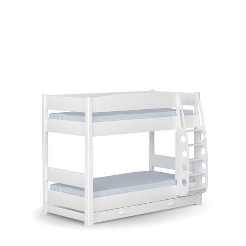 Łóżko piętrowe 90x190 UNI White