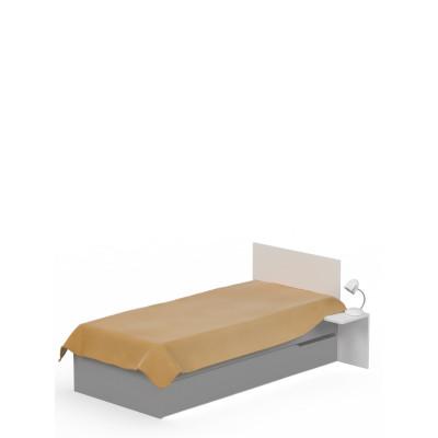 Łóżko 90x200 UNI Grey