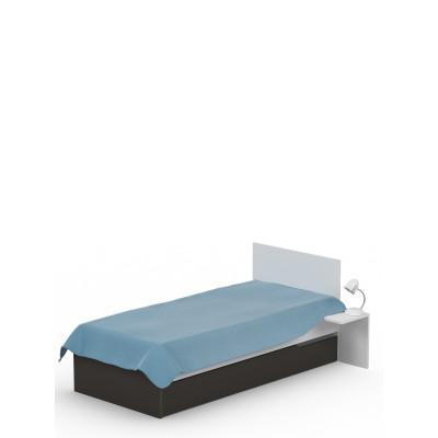 Łóżko 90x190 UNI Dark