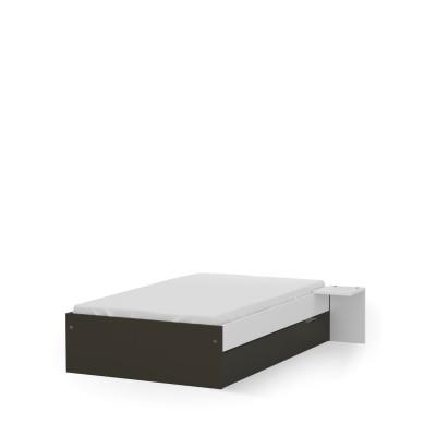 Łóżko 120x200 niskie UNI Dark