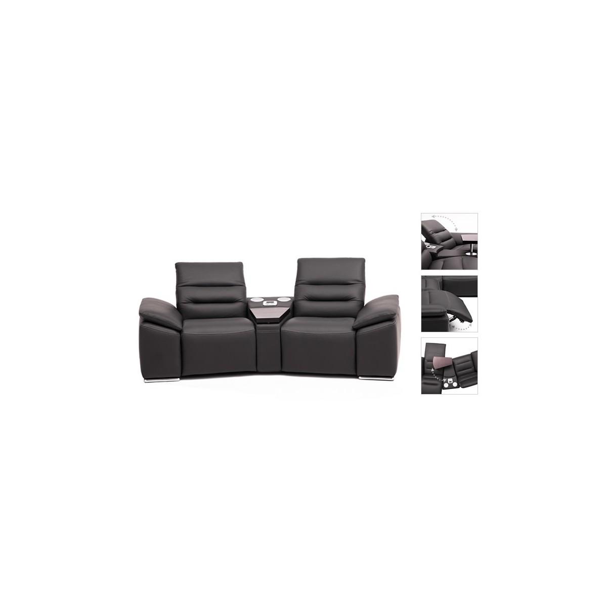 Impressione Sofa 2 (z półką) 280cm