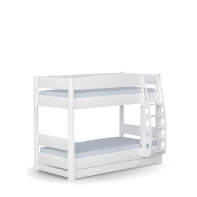 Łóżko piętrowe 90x190 White