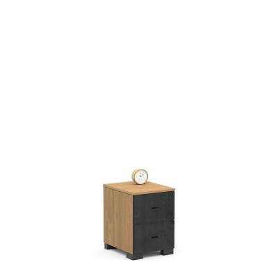 Box Concrete Oak