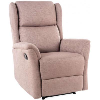 Fotel Rozkładany zeus brązowy