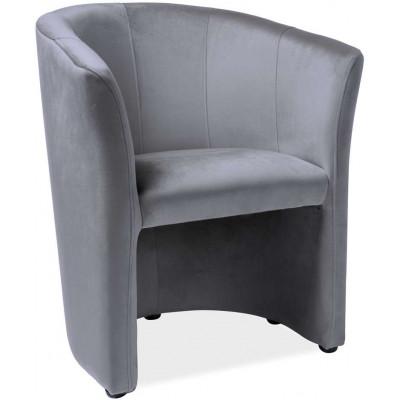 Fotel TM-1 velvet szary...