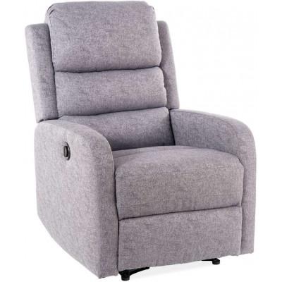 Fotel rozkładany Pegaz szary