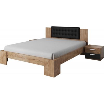 Łóżko 160cm z zagłówkiem +...