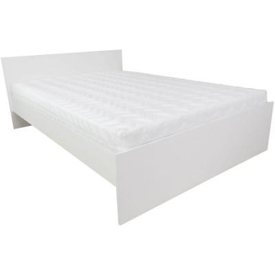 Łóżko 140 Ala biały alpejski