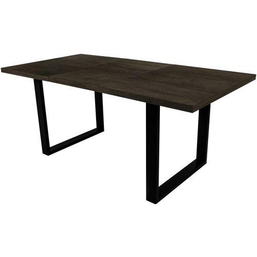 Stół rozsuwany 160x210 Loft czarny oxide
