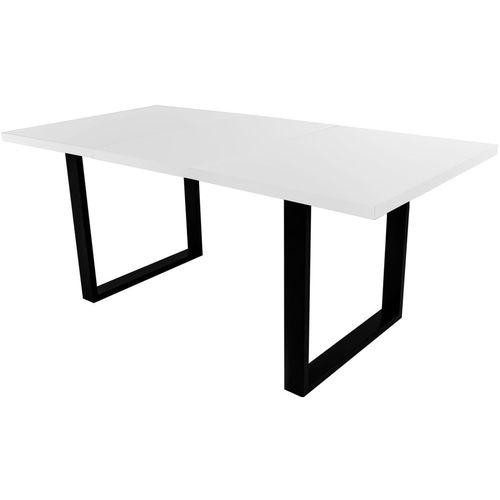 Stół rozsuwany 160x210 Loft biały
