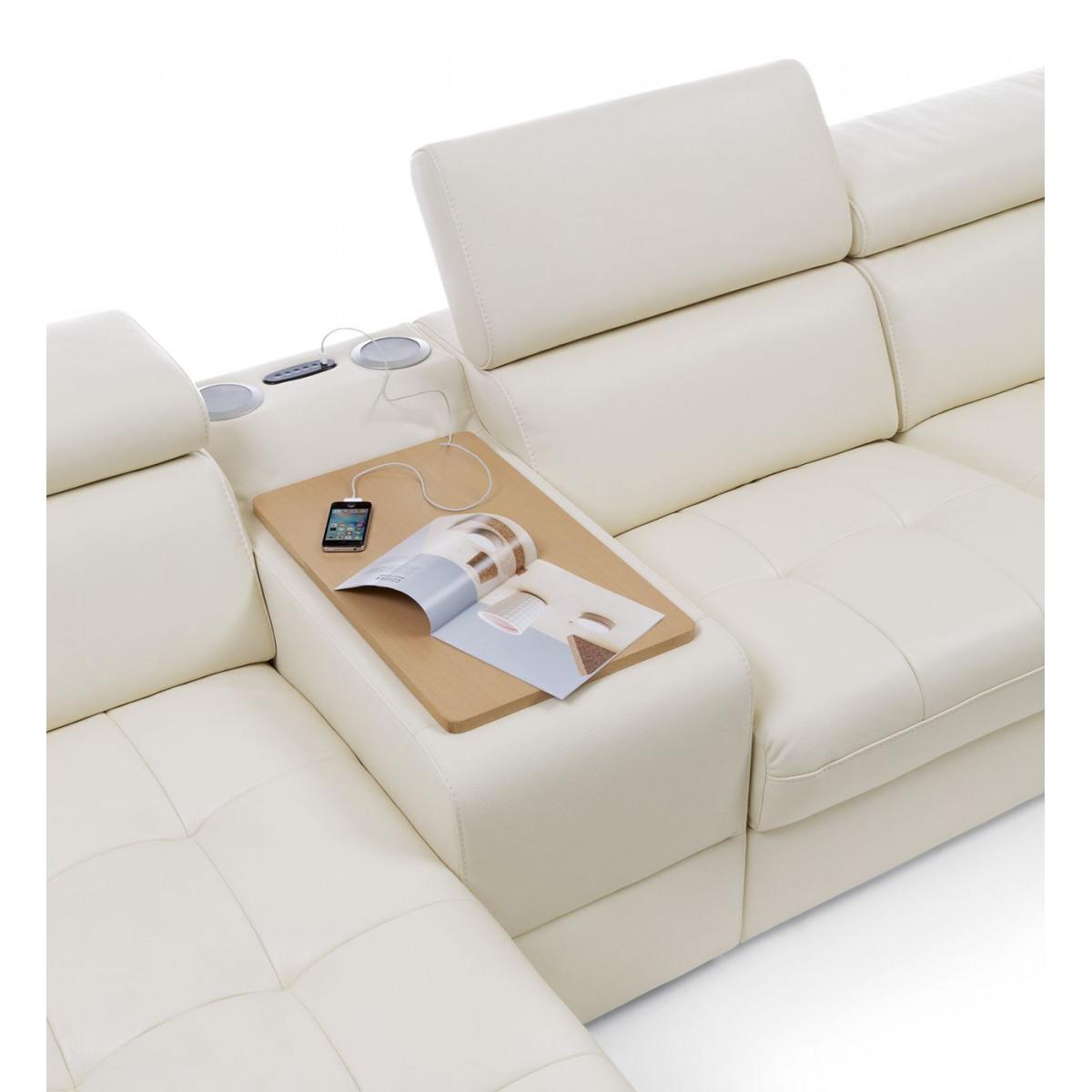 Narożnik Massimo 336x268cm z funkcją spania i relaks