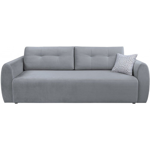 Sofa Divala Lilly 362 White Grey/Rain 24 Silver