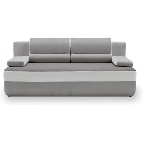 Sofa Juno IV Soro 90 Grey/Soro 83 Silver