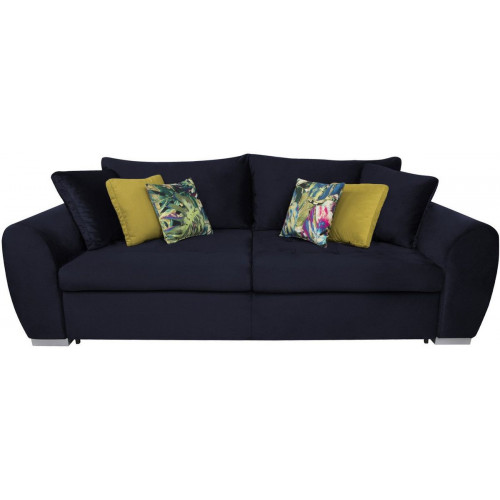 Sofa Gaspar IV Print Jungle Multikolor/Kronos 11 Yellow/Monoli 79 Navy
