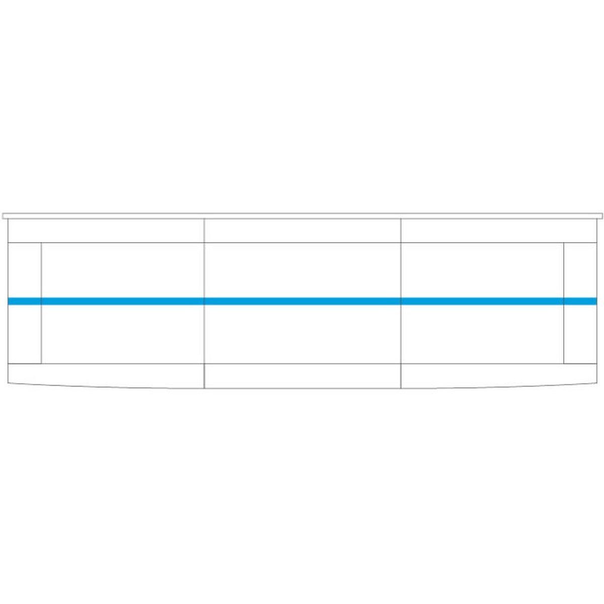 Bari Witryna wisząca duża 2DS z oświetleniem
