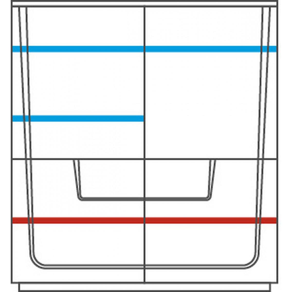 MAGANDA szafka z barkiem 4D