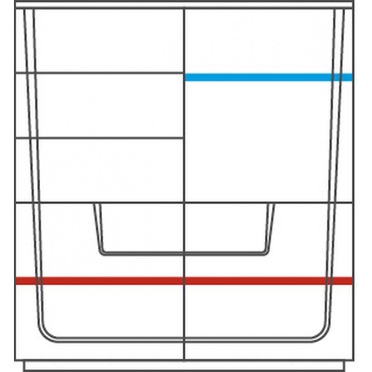 MAGANDA szafka z barkiem 3D3SZ