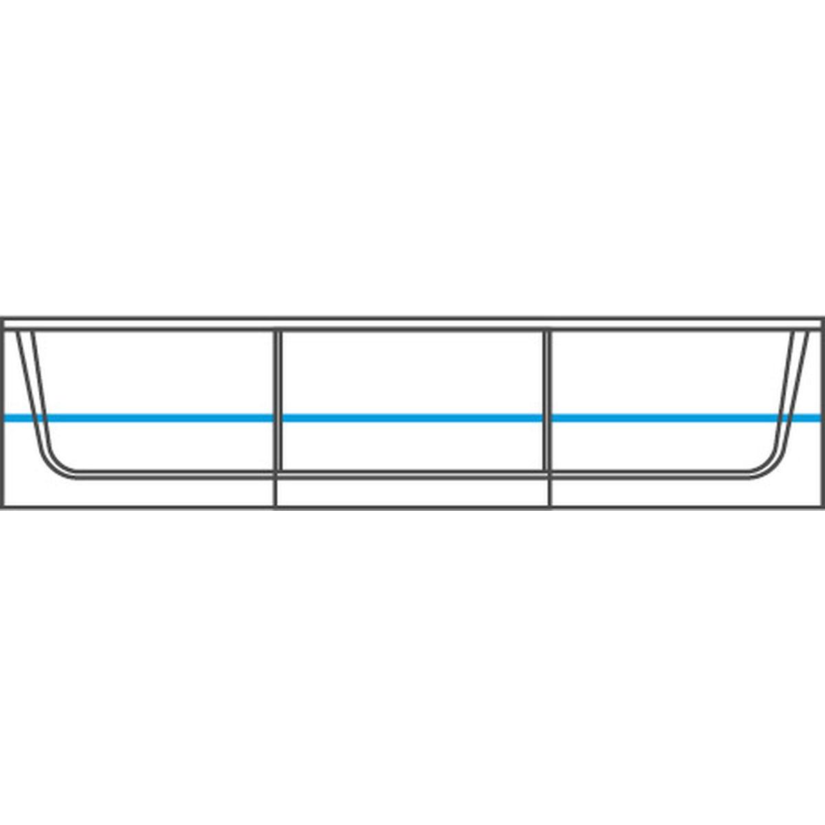 MAGANDA witryna wisząca duża 2DS z oświetleniem