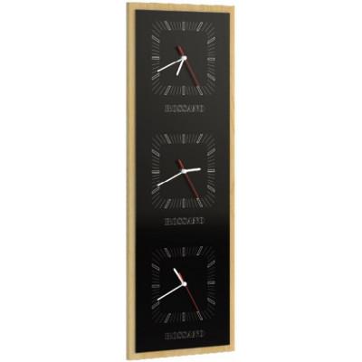 Rossano zegar potrójny pionowy