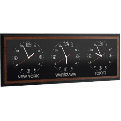 Venezia zegar potrójny poziomy