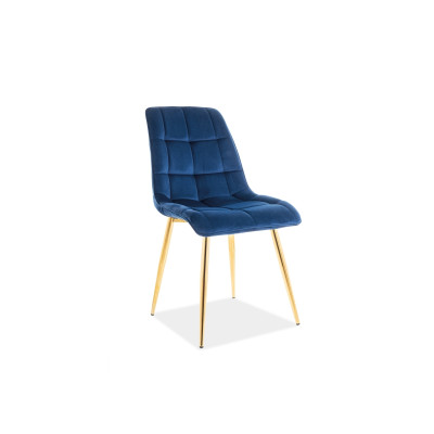 Krzesło Chic Gold Velvet