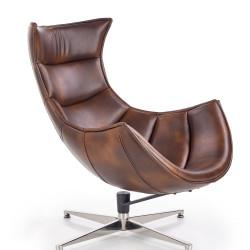 Luxor ciemny brązowy fotel