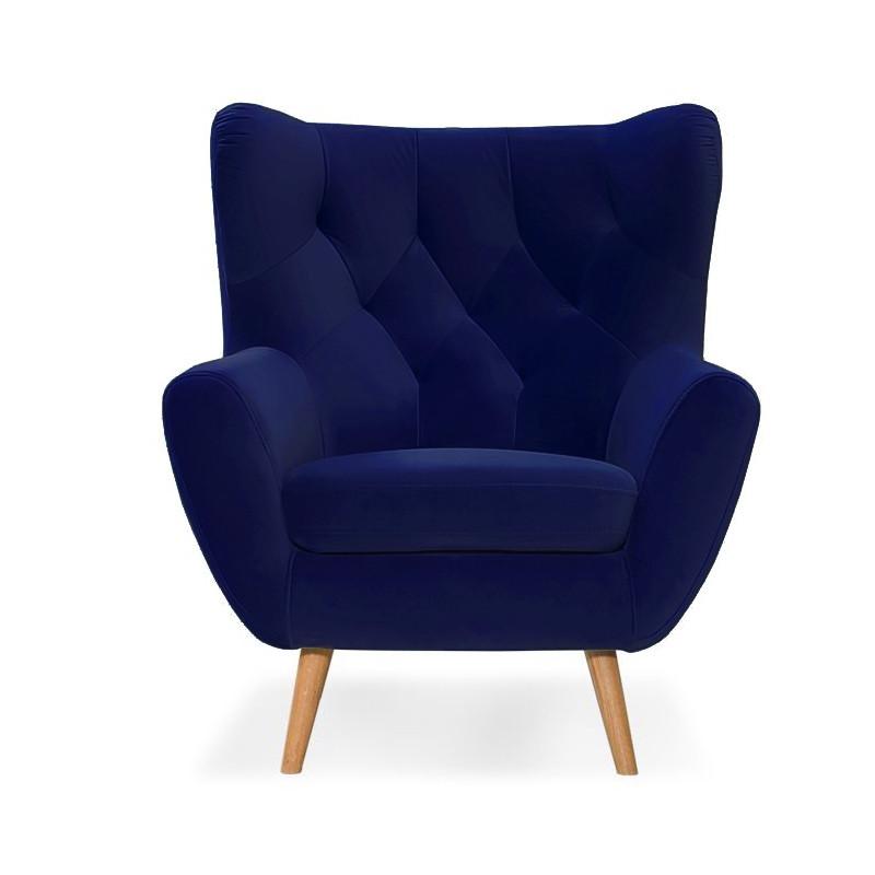 Fotel Voss błękity
