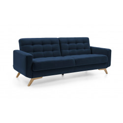 Sofa 3F Fiord granatowy