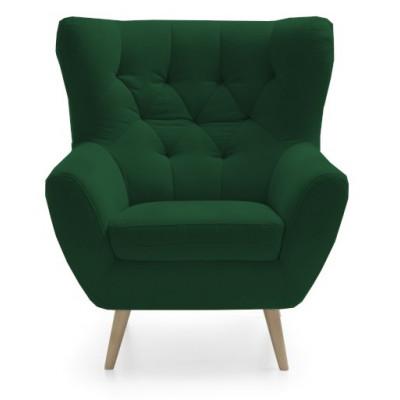 Fotel Voss zielony