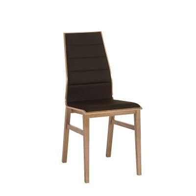Linea II krzesło Czarne