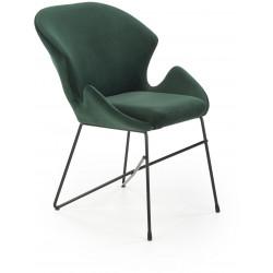 K458 krzesło ciemnozielone