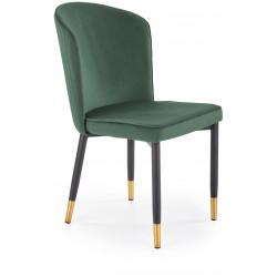 K446 krzesło ciemno zielone