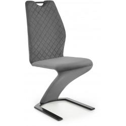 K442 krzesło popielate