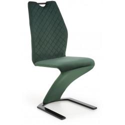 K442 krzesło ciemnozielone