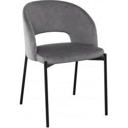 K455 krzesło popielaty