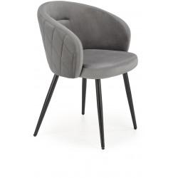 K430 krzesło popielate