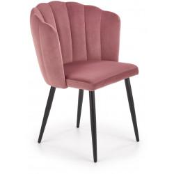 K386 krzesło różowe